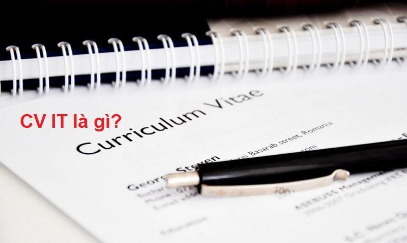 CV xin viec IT - cover