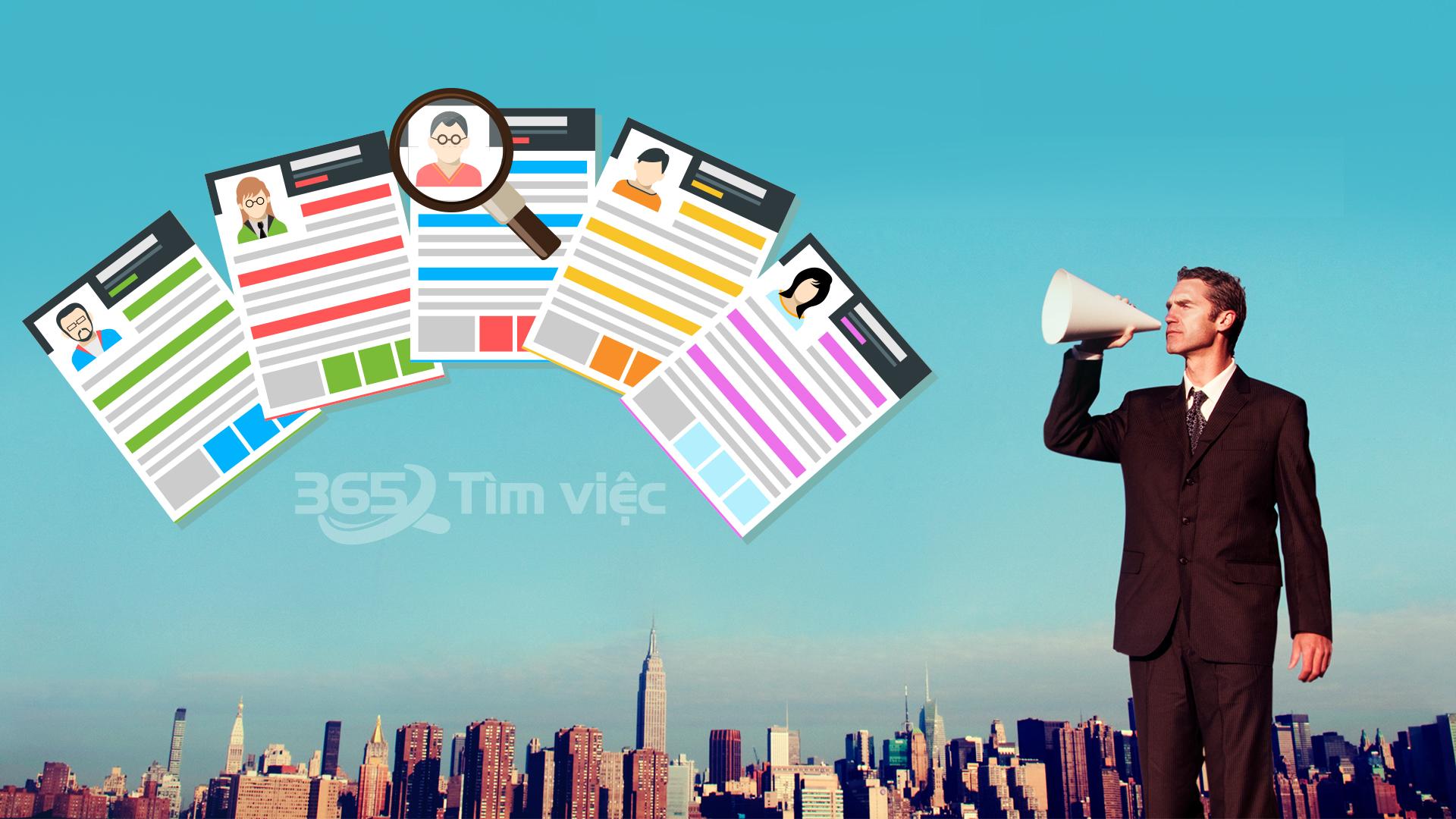 Employment Application form - Đơn ứng tuyển việc làm