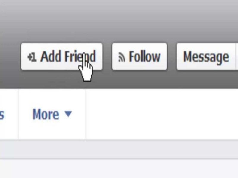 Kết bạn qua facebook