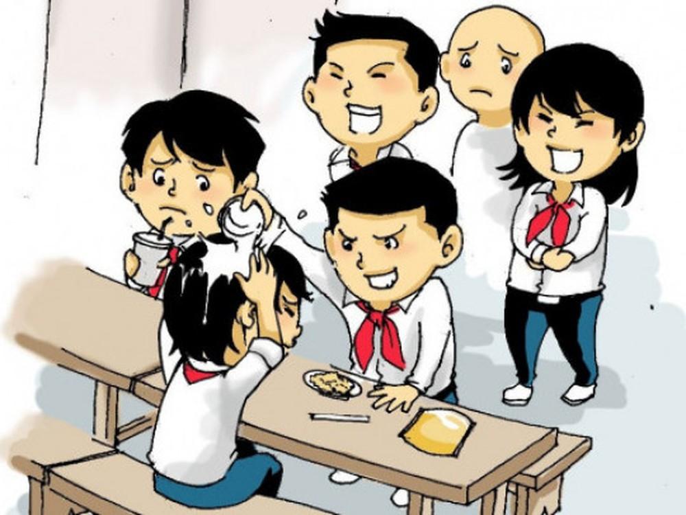 P.hân loại những hành vi đấm đá bạo lực học đường