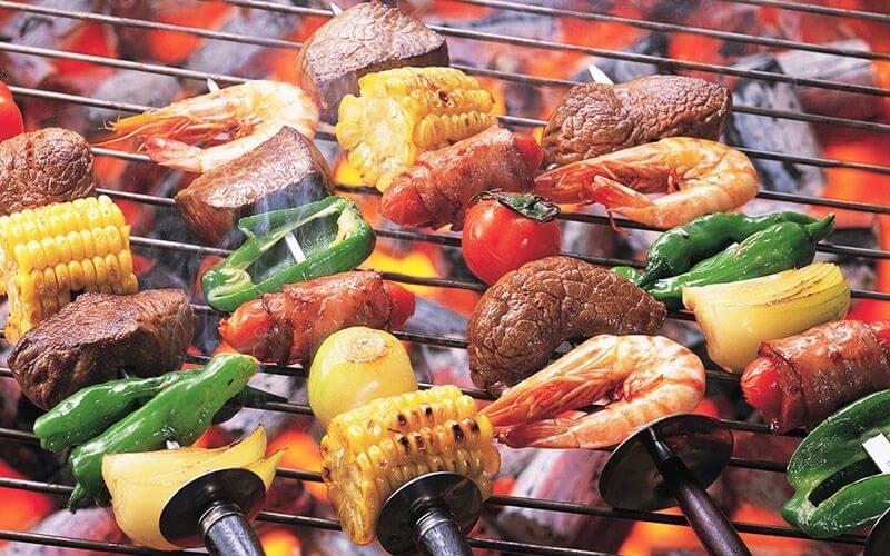 Cách thưởng thức BBQ. cũng vô cùng phong phú chủng loại và phong phú