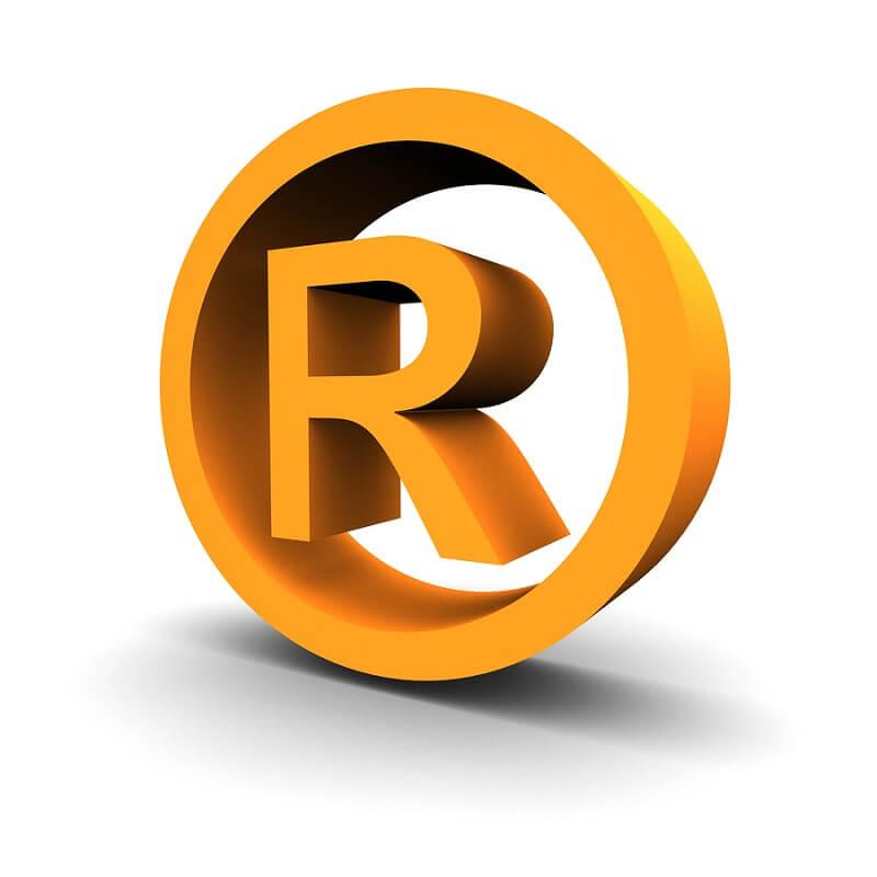 Các dấu hiệu nhận biết sản phẩm đã được đăng ký trademark