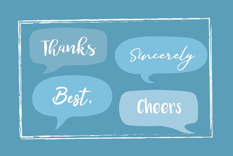 Một số từ/cụm từ có nghĩa tương tự với Best regards là gì?