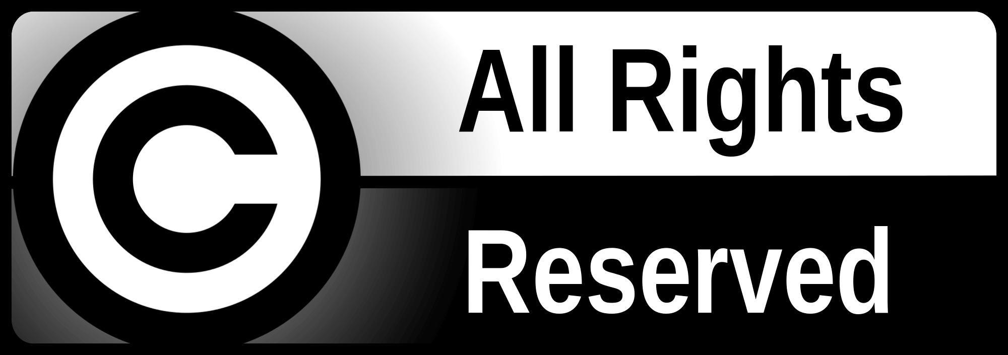 nguồn gốc xuất xứ - All Rights Reserved là gì