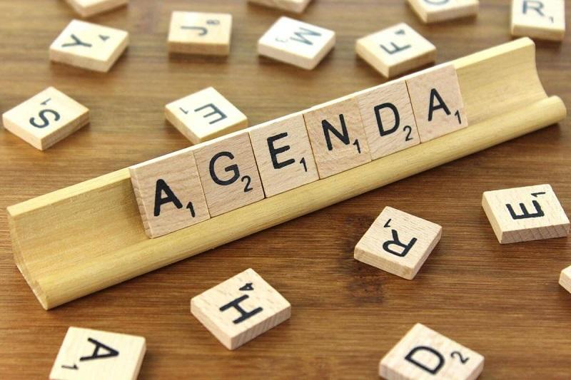 P.hân biệt Agenda với những từ nghĩa tương đống