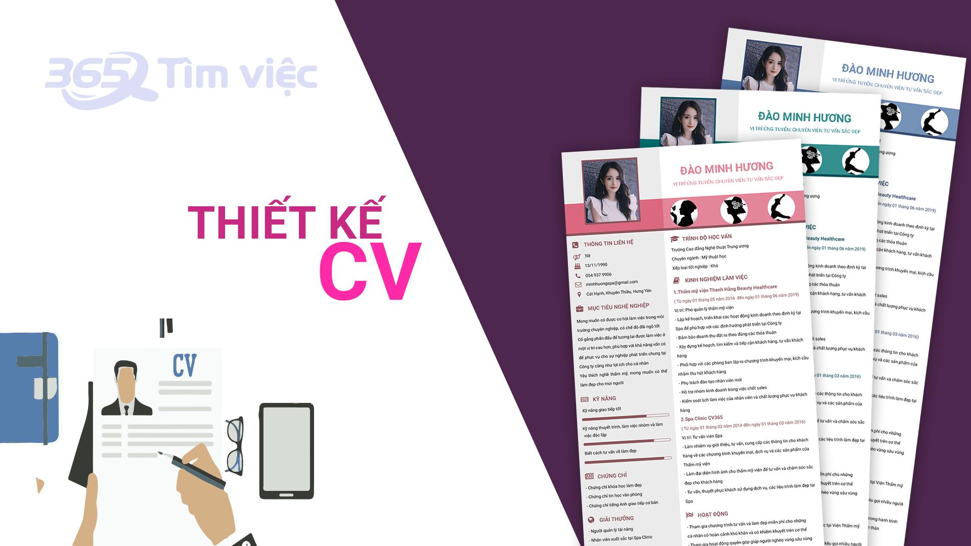 Thiết kế CV